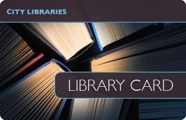 Library cards with a high level of finish personalised with your artwork