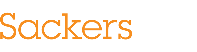 Sacker logo for library software case study