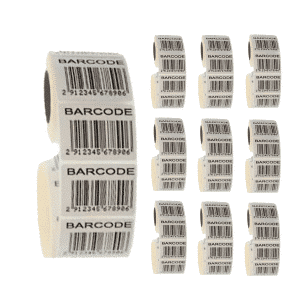 10,000 library barcode labels